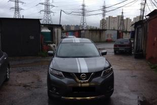 Nissan поклейка полос